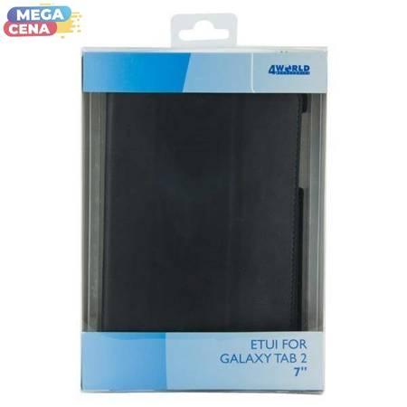 4World Etui ochronne/Podstawka do Galaxy Tab 2 7'' 4-FOLD SLIM czarne