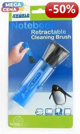 4World Pędzelek mały NOTEBOOK