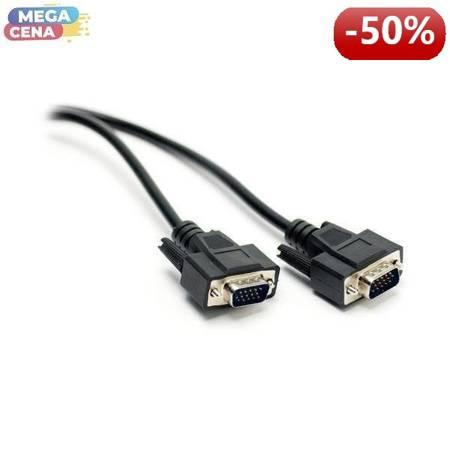 G&BL Kabel do monitora VGA HD15 męski/ VGA HD15 męski, 1.8 m