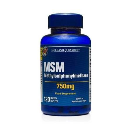 MSM 750 mg 120 Kapletek