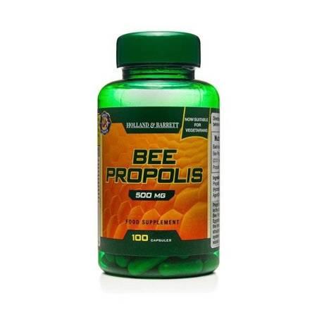 Propolis 500 mg Produkt Wegetariański 100 Kapsułek