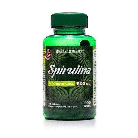 Spirulina 500 mg 200 Tabletek