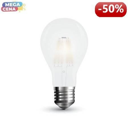 V-TAC Żarówka LED VT-2047 7W Filament A60 A++ E27 4000K 840lm
