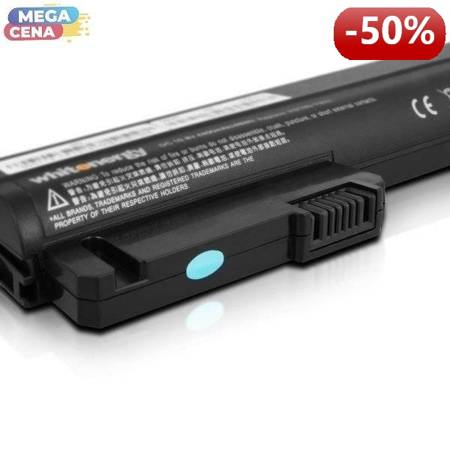 Whitenergy Bateria do laptopa HP Compaq NC2400 10.8-11.1V 4400mAh czarna