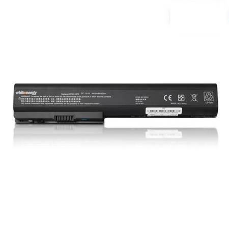 Whitenergy Bateria do laptopa HP Pavilion DV7-1100 DV7-1200, DV8 14.4-14.8V 4400mAh czarna