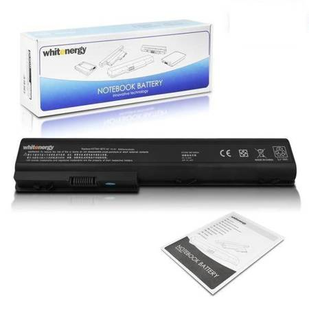 Whitenergy Bateria do laptopa HP Pavilion DV7Z-1100 14.4-14.8V 6600mAh czarna