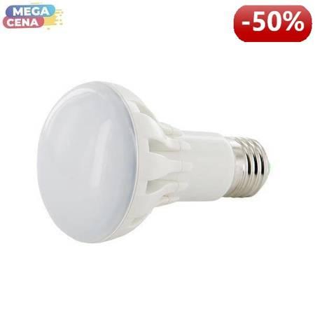 Whitenergy Żarówka LED 10W  E27 R63 SMD5630 ciepła 230V Reflektor / mleczne