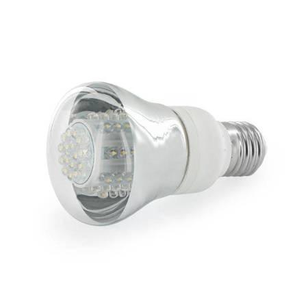 Whitenergy Żarówka LED R63 E27 4W 160lm Ciepła biała Szkło