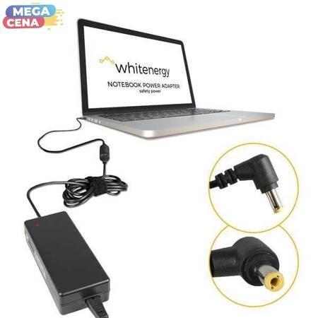 Whitenergy Zasilacz AC  Ładowarka do laptopa 16V 3.5A 55W 5.5x2.5 mm