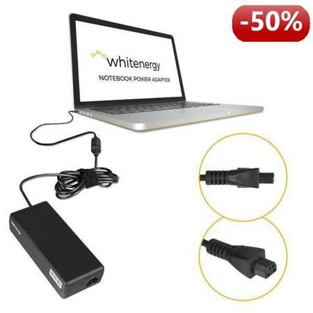 Whitenergy Zasilacz AC  Ładowarka do laptopa 18.5V 4.5A 80W trapezowy 4-pin