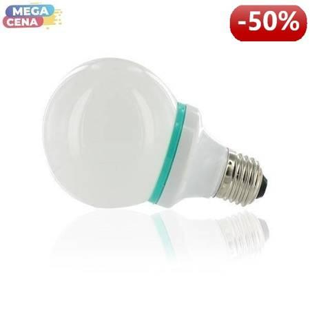 Whitenergy Źródło LED|78xDIP|B80|E27|4W|230V|ciepłe białe|mleczne