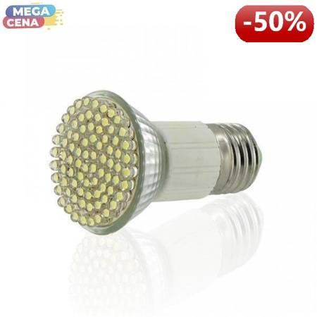 Whitenergy Źródło LED|80xDIP|MR16|E27|3W|230V|ciepłe białe|bez szybki