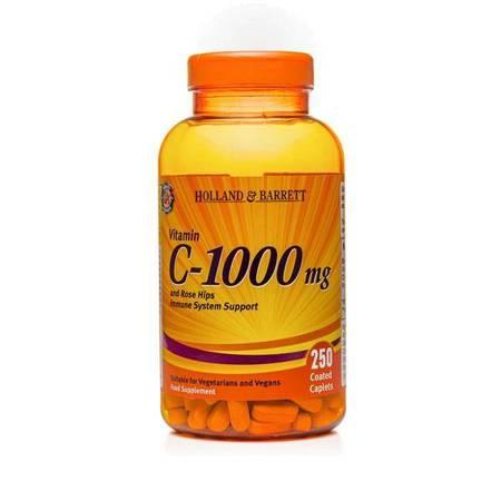 Witamina C 1000 mg z Dziką Różą 250 Kapletek
