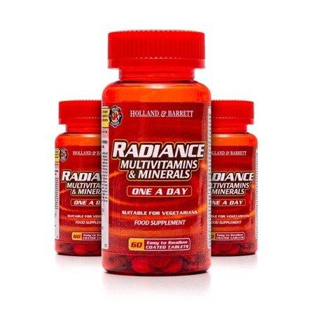 Zestaw 2+1 (Gratis) Radiance Multiwitaminy i Minerały 1 na Dzień 60 Tabletek