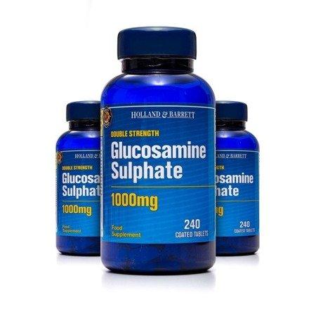 Zestaw 2+1 (Gratis) Siarczan Glukozaminy 1000 mg 240 Kapletek