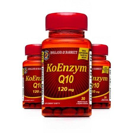 Zestaw Suplementów 2+1 (Gratis) Koenzym Q-10 30 Kapsułek 120mg