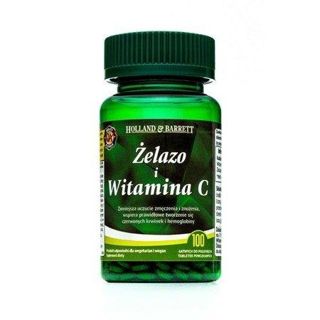 Zestaw Suplementów 2+1 (Gratis) Żelazo + C 100 Tabletek