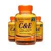 Zestaw 2+1 (Gratis) Witaminy C i E 500 mg 100 Kapsułek Żelowych Produkt Wegański